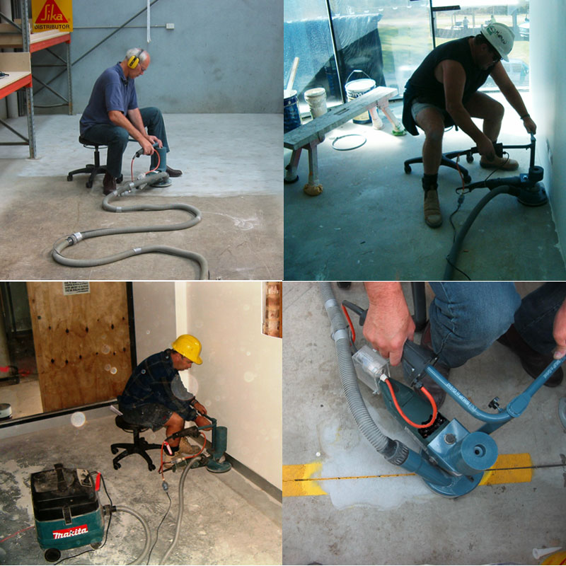 concrete polishing machine rental