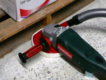 Concrete Floor Grinder Choices For Hand Grinding And Edges