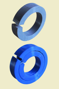 mounting inserts for polishers