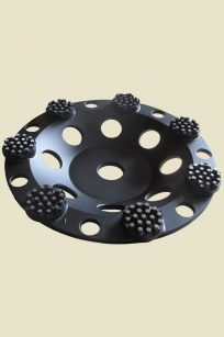 Tearitoff diamond grinding wheel