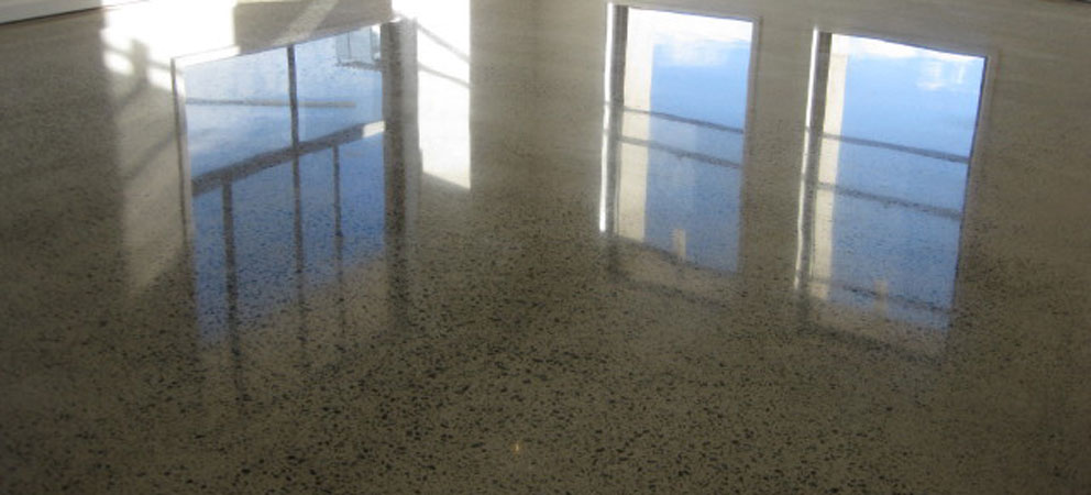 how to get polished concrete floors