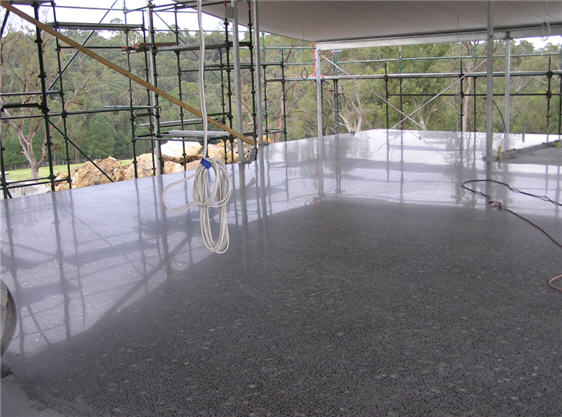 Guide to diy polished concrete traditional and new for How to shine cement floor