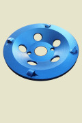 Coatings removal pcd wheel